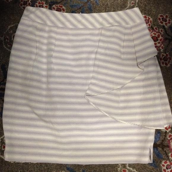 Anthropologie Dresses & Skirts - yoana baraschi ANTHROPOLOGIE sideswept skirt 12